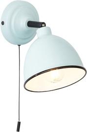Brilliant Telio 28W E14 Wall Lamp Light Blue