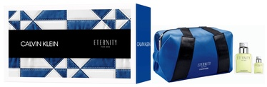 Calvin Klein Eternity 100ml EDT + 15ml EDT + Cosmetic Bag
