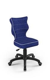 Bērnu krēsls Entelo Petit VS06, zila/melna, 350 mm x 830 mm