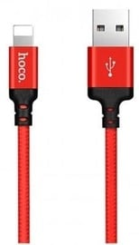Hoco Premium Times Speed X14 USB To Apple Lightning Cable 1m Black/Red