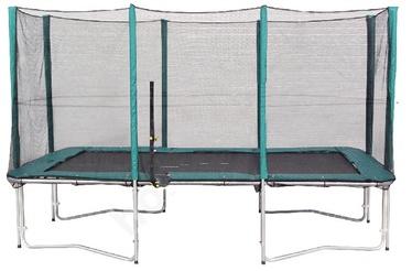 Батут Evelekt Green 274 см, с защитной сеткой