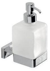 Inda Lea Liquid Soap Dispenser With Holder