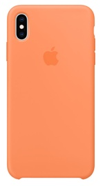 Apple Silicone Back Case For Apple iPhone XS Max Papaya