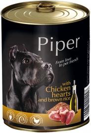 Dolina Noteci Piper Animals Chicken Hearts & Rice 800g