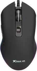 Spēļu pele Xtrike Me GM408G Black, vadu, optiskā