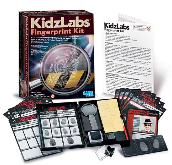 Intelektuāla rotaļlieta 4M KidzLabs Fingerprint Kit 3248