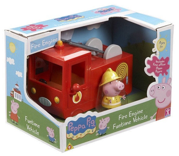Peppa Pig Fire Engine Funtime Vehicle 05523