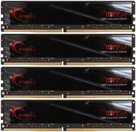 G.SKILL Fortis for AMD 64GB 2400MHz CL16 DDR4 KIT OF 4 F4-2400C16Q-64GFT
