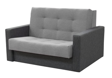 Диван-кровать Idzczak Meble Sylwia III Grey, 133 x 110 x 90 см