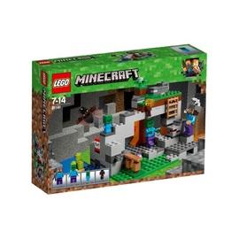 Конструктор Lego Minecraft The Zombie Cave 21141