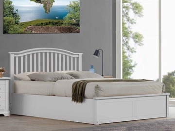 Signal Meble Madera Bed 160x200cm White