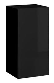 ASM Blox SW25 Cupboard Hanging Cabinet Black