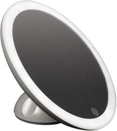 Зеркало Homedics MIR-SR821-EU LED, с освещением, приклеиваемый, 13.8 см x 13.8 см