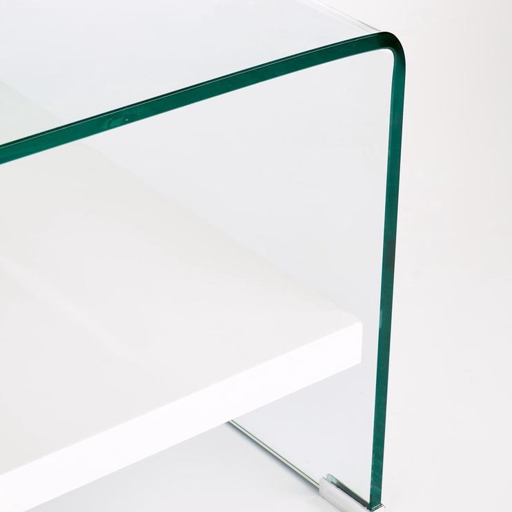 Kafijas galdiņš Halmar Elia White, 1100x600x400 mm