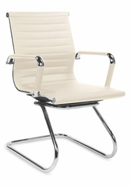Biroja krēsls Halmar Prestige Skid, bēša