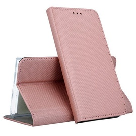 Mocco Smart Magnet Book Case For Samsung Galaxy A7 A750 Rose Gold