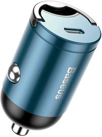 Baseus Tiny Star Mini USB Type-C Car Charger Blue