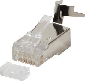 LogiLink® Modular Plug Cat.6A RJ45 for Cat7,Cat.6A, Cat.6 cable 50 pcs.