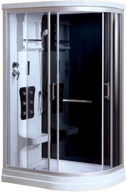 Vento Sicilia Massage Shower Left 120x215cm