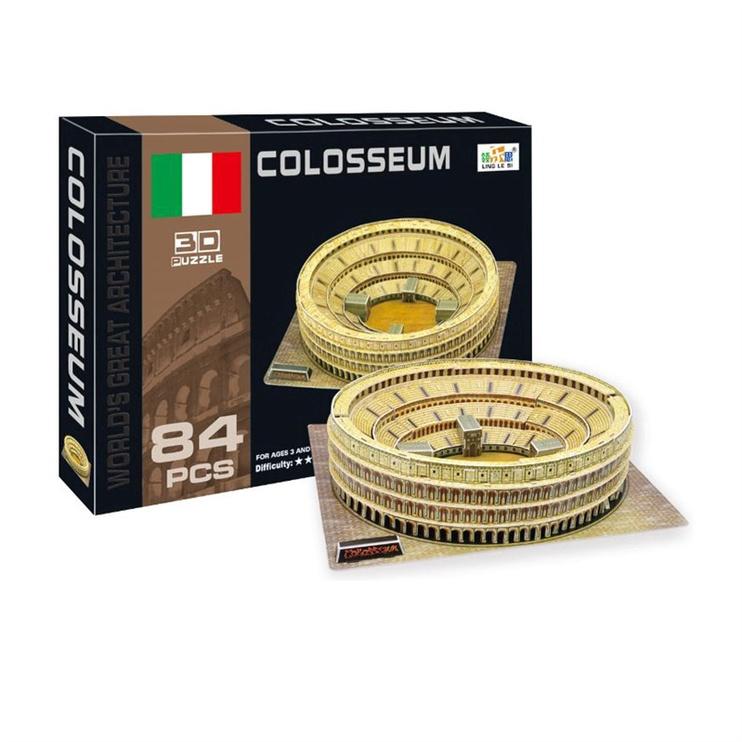 Delione 3D Puzzle Roman Coliseum 84pcs 525085362/A105