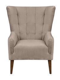 Atzveltnes krēsls Black Red White Casey Es Beige, 94x86x107 cm