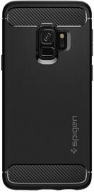 Spigen Rugged Armor Back Case For Samsung Galaxy S10 Plus Matte Black