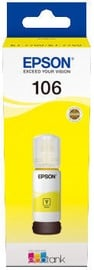 Epson 106 EcoTank Cyan Ink Bottle Yellow