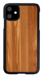 Man&Wood Cappuccino Back Case For Apple iPhone 11 Black/Brown