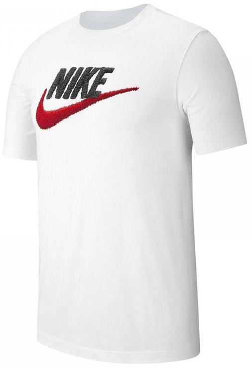 Nike Mens Brand Mark T-Shirt AR4993 100 White L