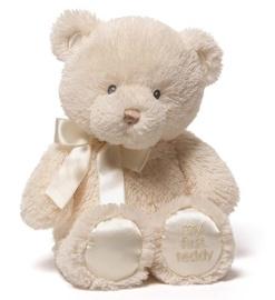 Mīkstā rotaļlieta Gund My First Teddy Light Brown, 38 cm