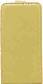Telone Shine Vertical Book Case For LG K3 K100 Gold
