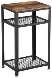 Kafijas galdiņš Songmics, brūna/melna, 450x350x750 mm
