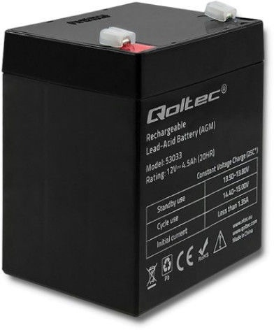 UPS аккумулятор Qoltec AGM 53033