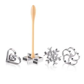 Tescoma Delicia Rosette Waffle Maker 4pcs