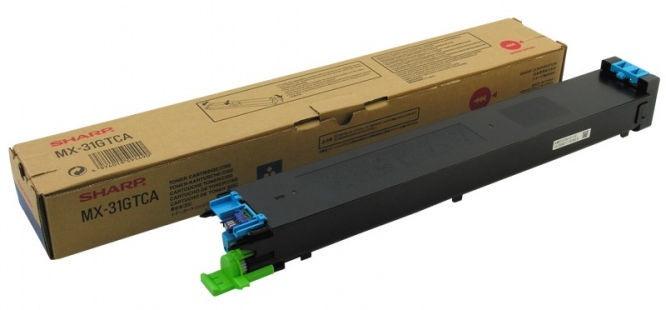 Sharp Toner MX31GTCA Cyan