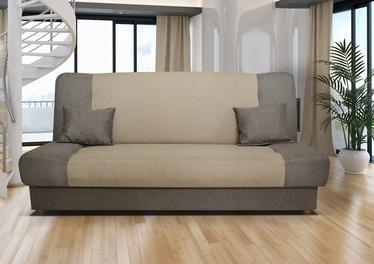 Dīvāngulta Platan Jas 05 Cream/Grey, 188 x 85 x 90 cm