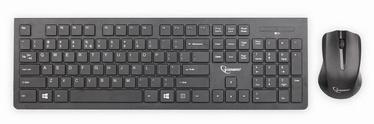 Gembird Wireless desktop set Black