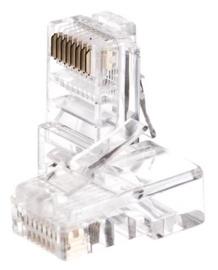 Tīkla produktu piederums Netrack Modular Plug UTP Cat5e RJ45, 100 gab.
