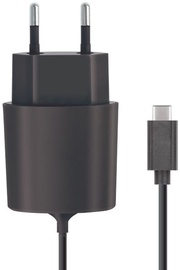 Forever Universal USB Type-C Travel Charger 2.1m Black