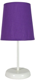 Candellux Gala 41-98392 40W E14 Table Lamp Violet