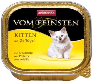 Влажный корм для кошек (консервы) Animonda Vom Feinsten Kitten Poultry 100g