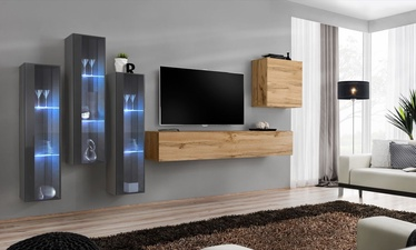 ASM Switch XIII Wall Unit Wotan Oak/Graphite