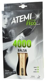 Atemi Ping Pong Racket 4000 Balsa Concave