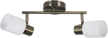 Verners Erlend 73772-2 Ceiling Lamp 2x60W E27 Brass