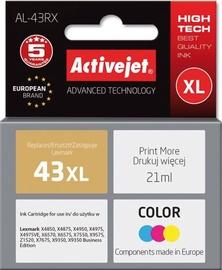 ActiveJet Cartridge AL-43RX For Lexmark 21ml MultiColor