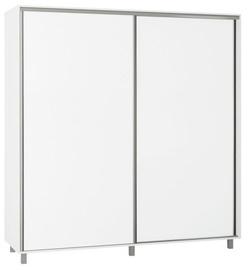 Skapis Bodzio SZP200, balta, 200x60x210 cm