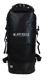 Amphibious Quota Waterproof Backpack 30L Black