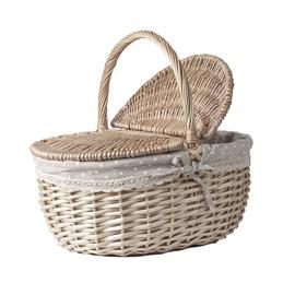 Home4you Olaf Picnic Basket 40x30xH19/36cm