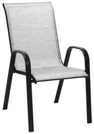 Dārza krēsls Home4you Dublin, pelēka, 73x55.5x93 cm