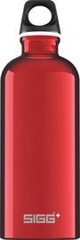 Sigg Water Bottle Traveller Red 1L
